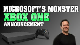 The Gaming Industry Just Changed Forever! Microsoft Makes A MONSTER Xbox One X Announcement!