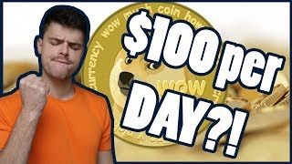 $100 a day with DOGECOIN?!