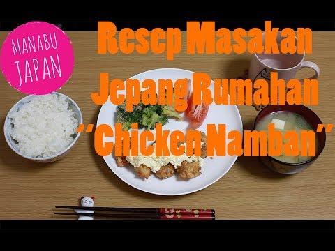 makanan-jepang- -resep-chicken-namban-rumahan