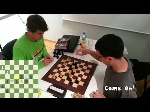 Magnus Carlsen TRASH TALKING! vs. World Top 100 Grandmaster