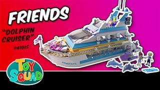 Lego Friends 41015 Dolphin Cruiser Animated Build
