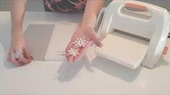 Nahkapaperiset LED-lumihiutaleet - Tools kuvioleikkuri