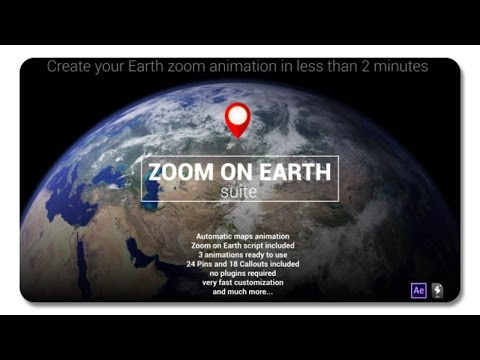 Zoom On Earth Suite 19305527 | After Effects Template - YouTube