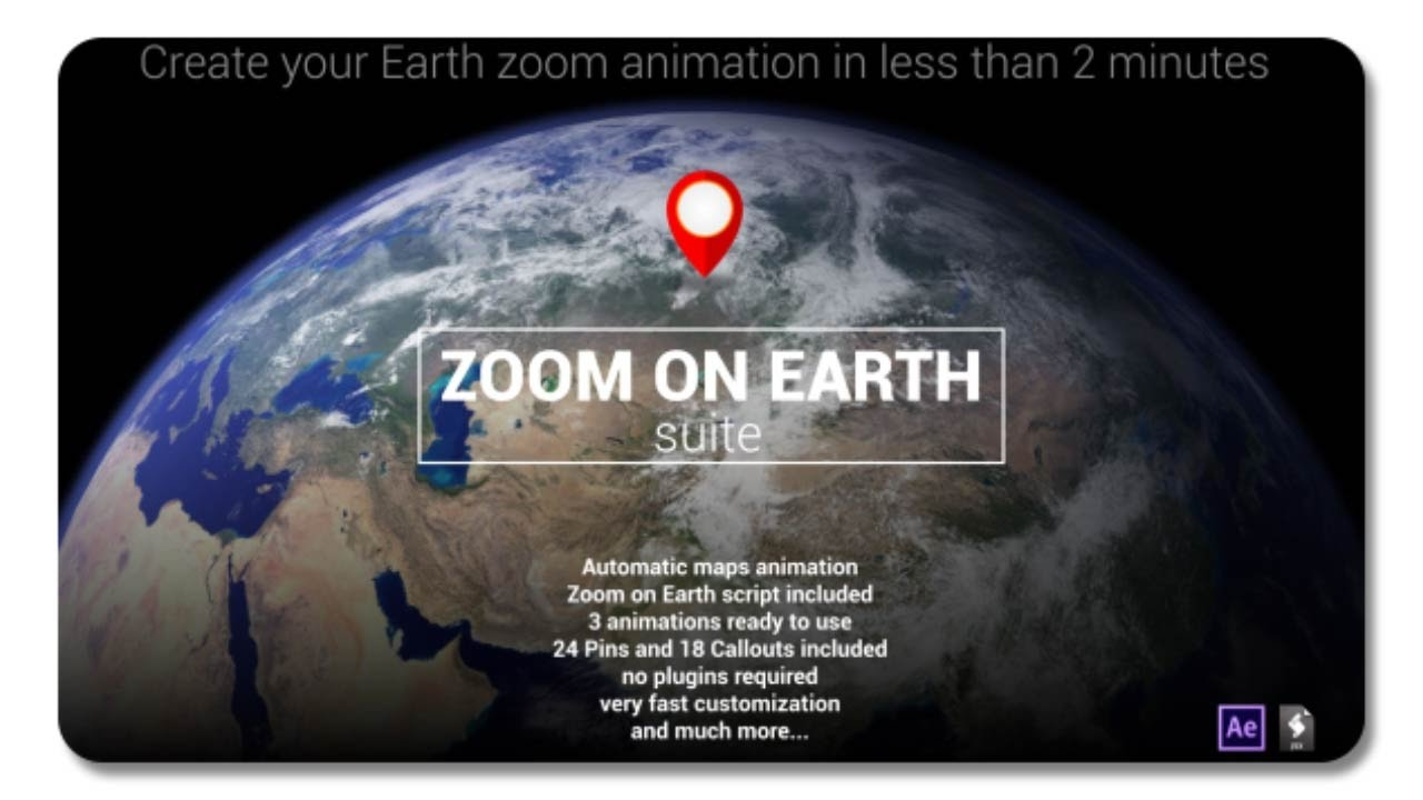 Zoom on earth suite 19305527 after effects template youtube zoom on earth suite 19305527 after effects template gumiabroncs