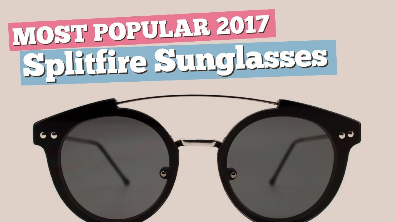 e1c60d87eb0 Splitfire Sunglasses Collection    Most Popular 2017 - YouTube