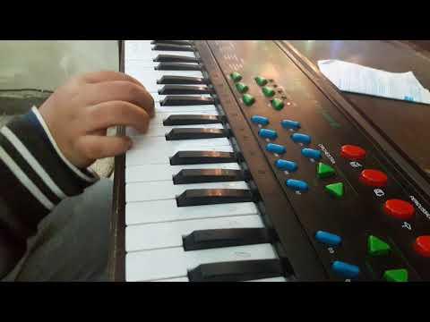 Tum hi se ay Mujahido on piano