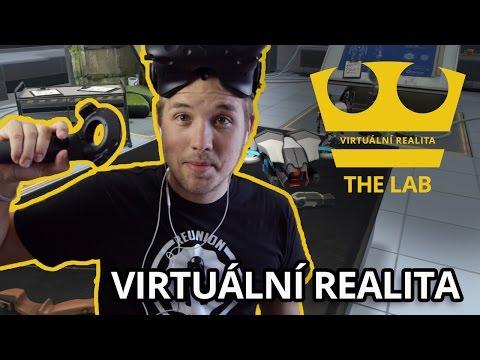 Jirka Hraje - Virtuální realita - The lab