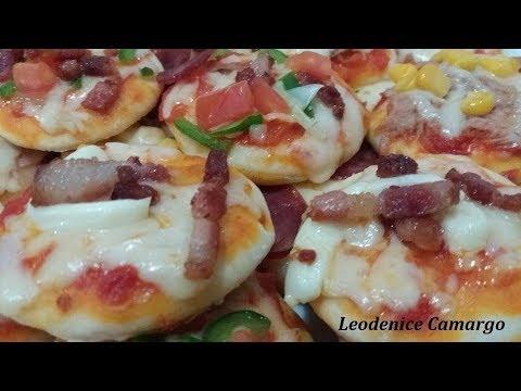 Mini Pizza   Deliciosa   Faça e Venda