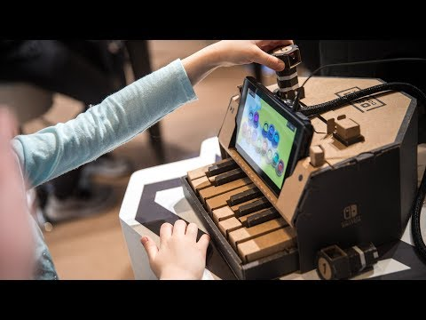 Hands-On with Nintendo Labo!