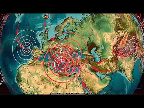 11/02/2018 -- New Earthquake unrest brewing -- Deep activity setting stage for large quakes AGAIN