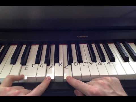 7 Years Piano Chords