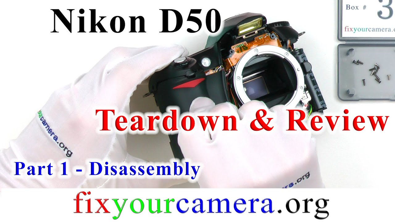 nikon d50 teardown review part 1 4 disassembly how it works rh youtube com Pcoket Guide Paperwork Guide