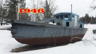 Bought Russel Brothers Logging Tugboat 1946 Built