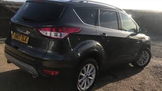 2017 FORD KUGA 2.0 TDCI FOR SALE | CAR REVIEW VLOG