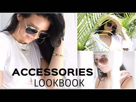 HOW TO ACCESSORIZE | Sunglasses, Chokers, Hoops, etc!