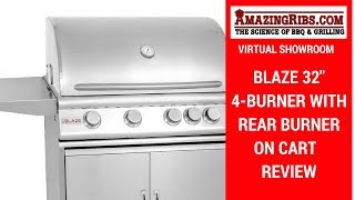 AmazingRibs.com Virtual Showroom - Blaze 32