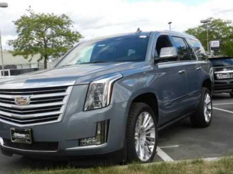 2016 Cadillac Esv Gray Silk Metallic Youtube