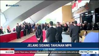 Suasana Jelang Pidato Presiden Jokowi Di Sidang Tahunan MPR 2018