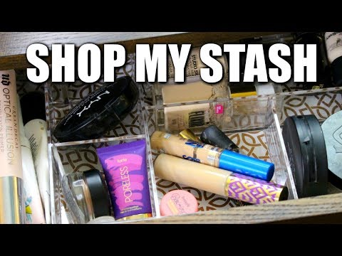 Shop My Stash/Everyday Makeup Drawer! Feb 2018 | DreaCN ~OPEN GIVEAWAY