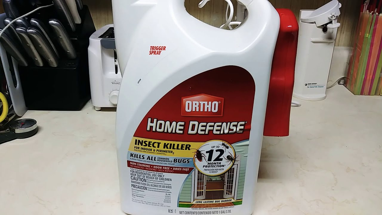 Home defense bug spray does it work? At home depot my product review