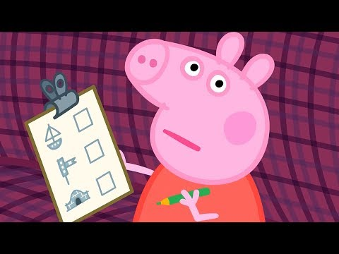 Peppa Pig Full Episodes | The Train Ride | Cartoons for Children