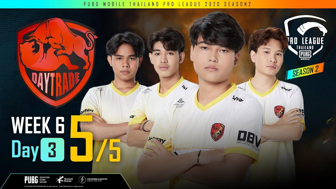 [Week 6 DAY 3 Group A,C MATCH 5] PUBG Mobile Thailand Pro League 2020 Season 2