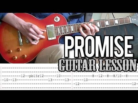 Slash - Promise Full Guitar Lesson (With Tab)