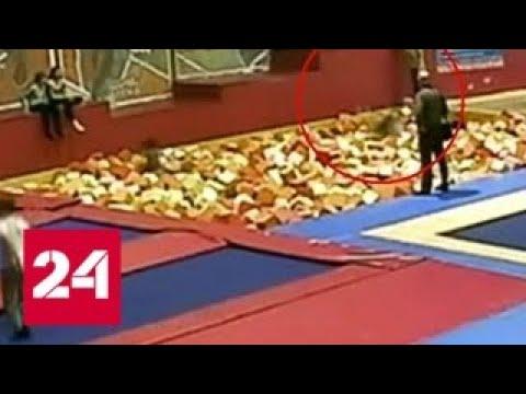 Смертельный прыжок: школьница