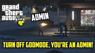 ADMINS FIGHT While I'm DRUNK! (GTA RP)