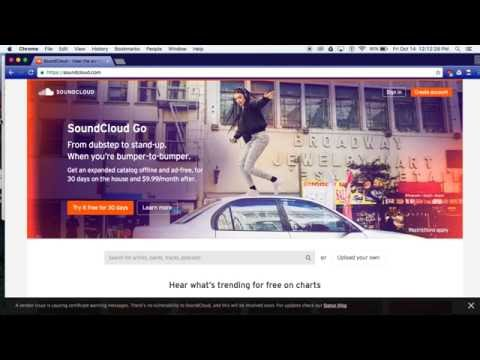 How to Download songs from Sound Cloud Using Google Chrome