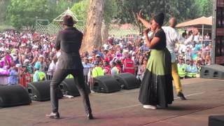 The Soil performing Susan in Macufe