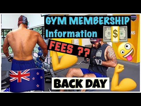 Gym 💪💪Membership Information. BACK DAY 💪NewZealand  I SINGHLIFESTYLENZ L PUNJABI GYM VLOG-31 L
