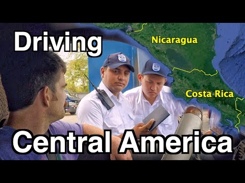 Driving Across Central America Borders | Crossing Nicaragua To Costa Rica Ep.59