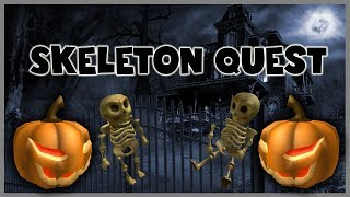 ROBLOX | The Ghosting Hour! | How To Do The Skeleton Quest