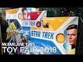 Toy Fair 2018: McFarlane Toys STAR TREK Figures and DISCOVERY Phaser Prototype