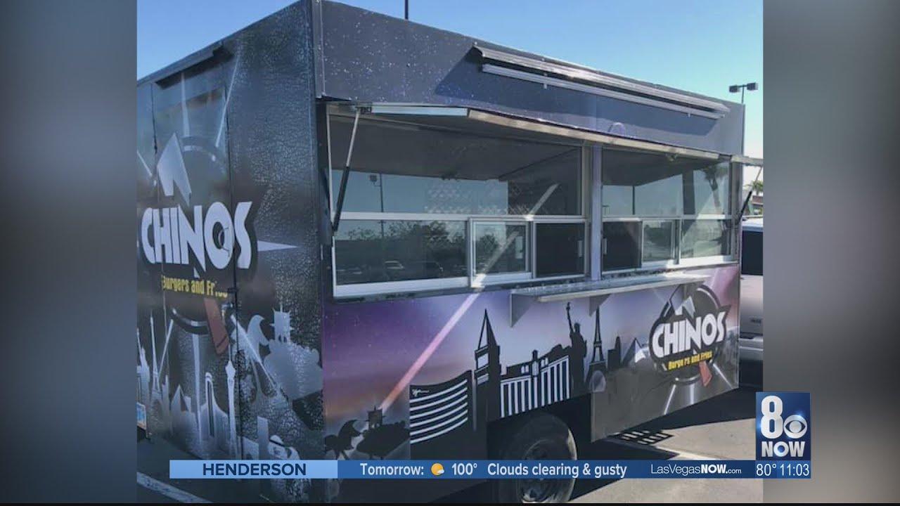 $1,000 Reward offered for stolen Las Vegas food truck