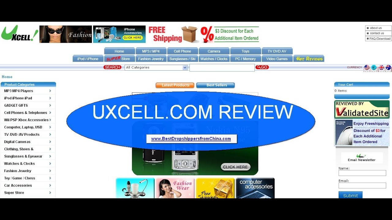 9ea715325f7935 Uxcell.com Review - Hong Kong based factory-direct online shop - YouTube