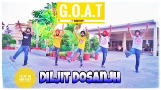 Goat Bhangra - Diljit dosanjh |g.o.a.t | clash | Karan aujla | official video | trend of bhangra |