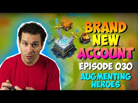 NEW ACCOUNT Episode 30: Augmenting + Hero Collector