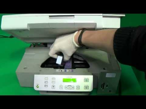 Lexmark ink cartridges with print-head, not recognized, missing, damage, chip problem, incorrect