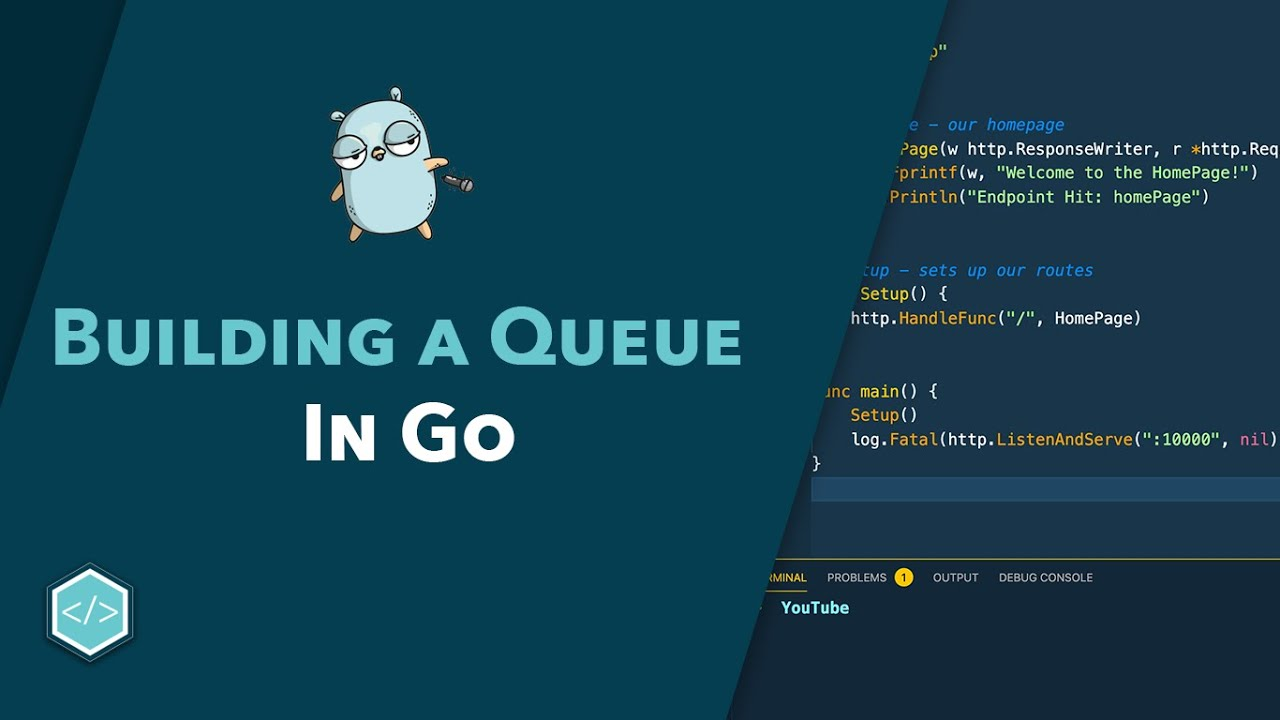 Implementing a Queue - Go Data Structures Course