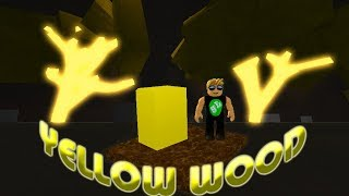 Roblox Lumber Tycoon - YELLOW WOOD