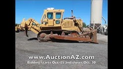 Heavy Equipment auction in Phoenix, Arizona, October 30, 2013