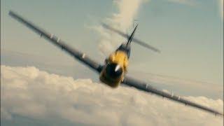 Dunkirk (2017) - Chasing Bf-109 Scene 1080p IMAX HD