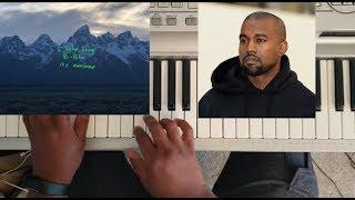 KANYE WEST - WOULDNT LEAVE (YE ALBUM) PIANO TUTORIAL C MINOR