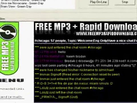 FREE MP3 DOWNLOAD AND CHAT IN YOUR CITY