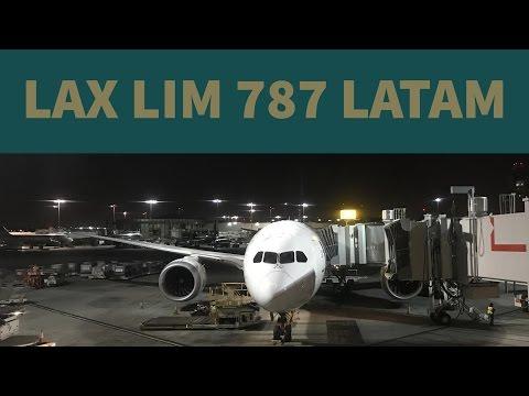 LATAM 787 Los ángeles Lima