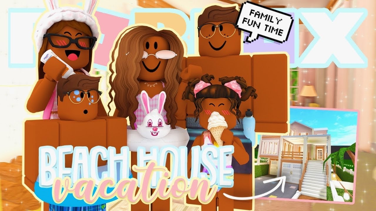 Summer VACATION! *We Went To Our BEACH HOUSE* Roblox ...