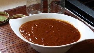 Homemade Tamarind BBQ Sauce.