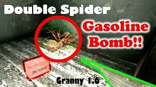 Granny1.6【バグ】~悲しき家なきグモ~ Spiders who can not return home